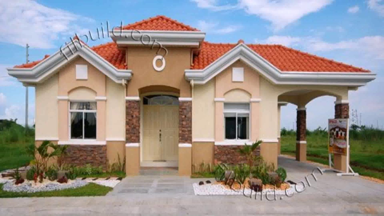 Bungalow house roof design philippines youtube for Different exterior house styles