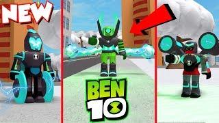 *NEW* ALL OMNI ENCHANCED ALIENS UPDATE IN BEN 10 - Roblox Ben 10 Fighting Game