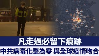 500萬武漢人移動軌跡 與全球疫情吻合 新唐人亞太電視 20200327