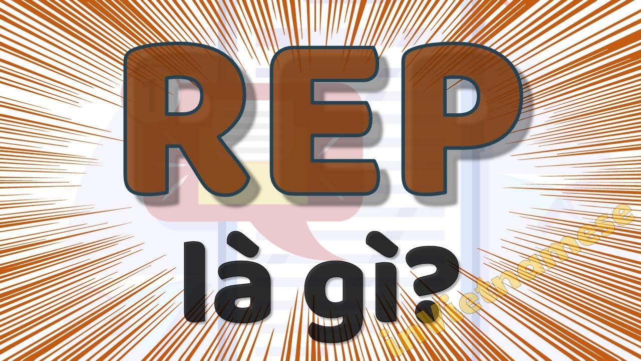 REP là gì trên facebook? Giải đáp rep có nghĩa là gì