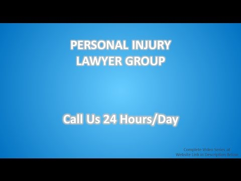 Personal Injury Lawyer Nashua (603) 546-7650 | Trusting Insurance Companies Part 1