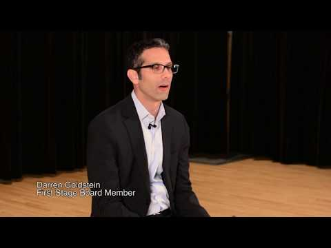 First Stage Testimonial: Darren Goldstein Board Member