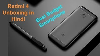 Xiaomi MI Redmi 4 Unboxing   Best Budget Phone Under 7000   Hindi