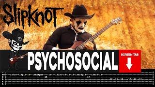 Download Psychosocial Tab : https://www.patreon.com/posts/slipknot-...