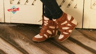 Fashion Lab - Wedge Sneakers