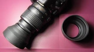 Обзор резиновой бленды на 3 положения с Али (3 Stages Collapse Rubber Lens Hood)(, 2014-12-26T09:14:34.000Z)