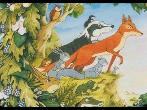 desenho os animais do bosque dos vintens