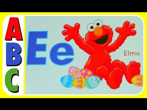Learn ABC Alphabet with Sesame Street Big Birds First Book Of Letters Educational Book! ABC Video Fo