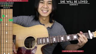 She Will Be Loved Guitar Cover - Maroon 5 🎸 |Tabs + Chords|