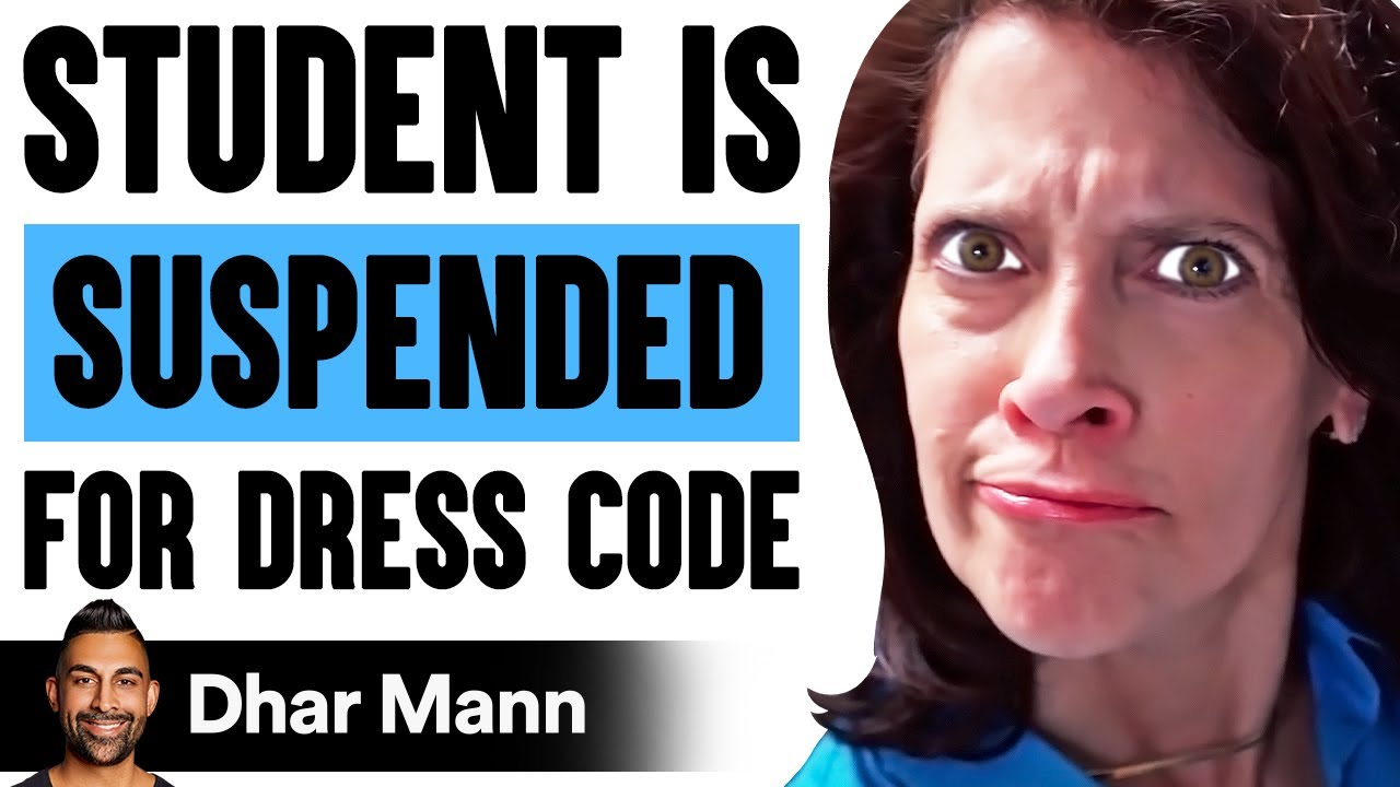 Download STUDENT Is SUSPENDED For Dress Code, What Happens Next Is Shocking   Dhar Mann