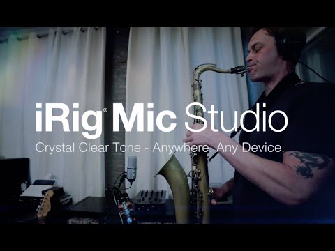 Review: iRig Mic Studio – Studio Quality Audio in The Palm of Your Hand