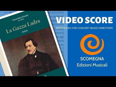 LA GAZZA LADRA, Sinfonia - Gioachino Rossini, arr. Einz