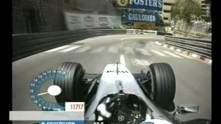 F1 Monaco 2002 - Qualifying - David Coulthard Onboard Lap