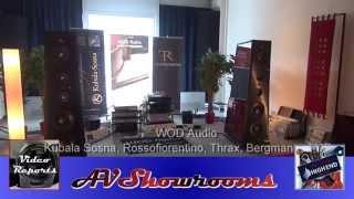 WOD Audio, Kubala Sosna, Rossofiorentino, Thrax, Bergmann, AMR, High End Munich 2014