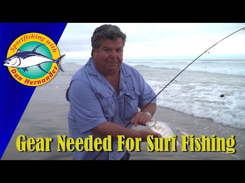Gear Needed For Surf Fishing | SPORT FISHING