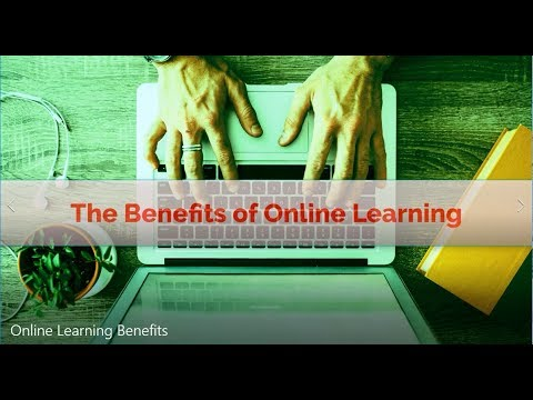 Top 7 Benefits of Online Learning
