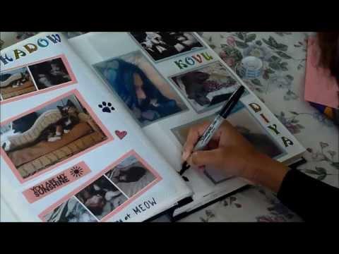 DIY Scrapbook Layout & Ideas