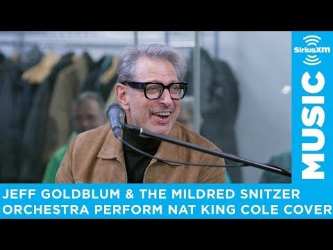 Jeff Goldblum & The Mildred Snitzer Orchestra perform 'Straighten Up and Fly Right'