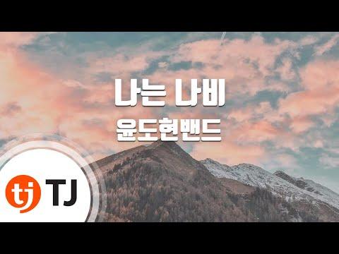 [TJ노래방] 나는나비 - 윤도현밴드 (Flying Butterfly - YB) / TJ Karaoke