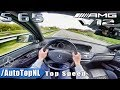 Mercedes Benz S65 AMG 6.0 V12 BiTurbo FAST! Autobahn Top Speed POV Drive