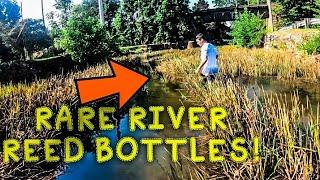 RIVER TREASURE | ANTIQUE BOTTLES | EXPLORING 1820S GRAVEYARD!!!
