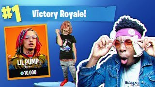 *NEW* LIL PUMP CHALLENGE in Fortnite: Battle Royale! (NEW RAINBOW GLITCH?)