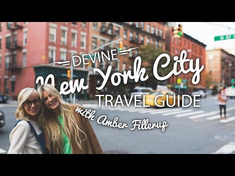 NYC TRAVEL GUIDE with Amber Fillerup