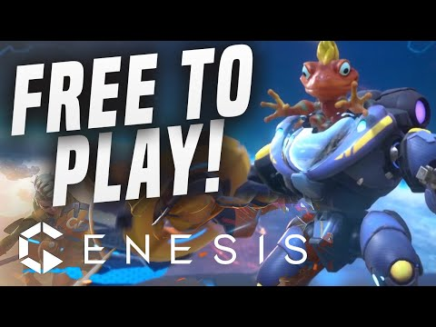 SHOULD YOU DOWNLOAD...New PS4 Free To Play Moba Game!? Genesis PS4 Gameplay!