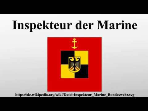 Inspekteur der Marine