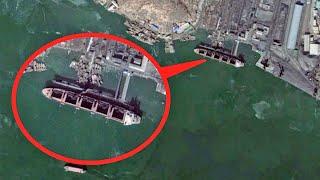 Caught on Satellite - North Korea's Secret Ships