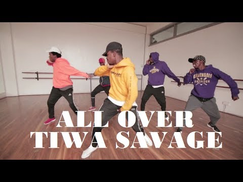 Tiwa Savage - All Over | Githendu Choreography