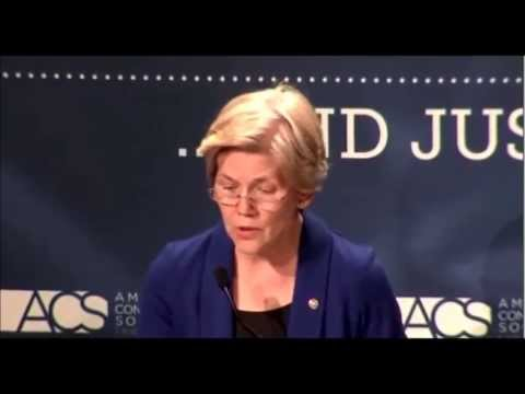 Senator Elizabeth Warren - Corporate Interests Have Too Much Influence Over Our Federal Courts