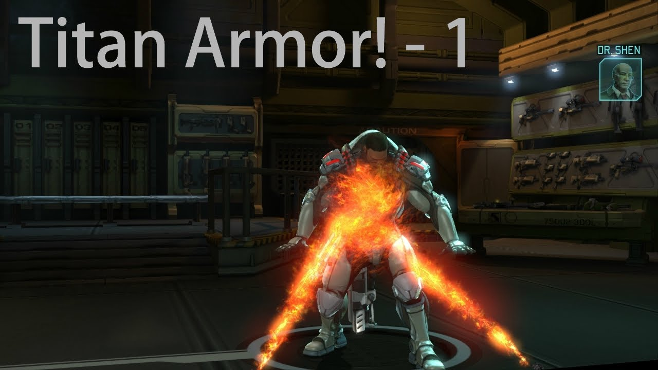 Xcom enemy unknown titan armor classic 5 1 youtube for Portent xcom not now