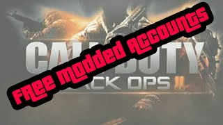 LIVE PS3 Call Pf Duty®: Black Ops 2 Modded Account Giveaway