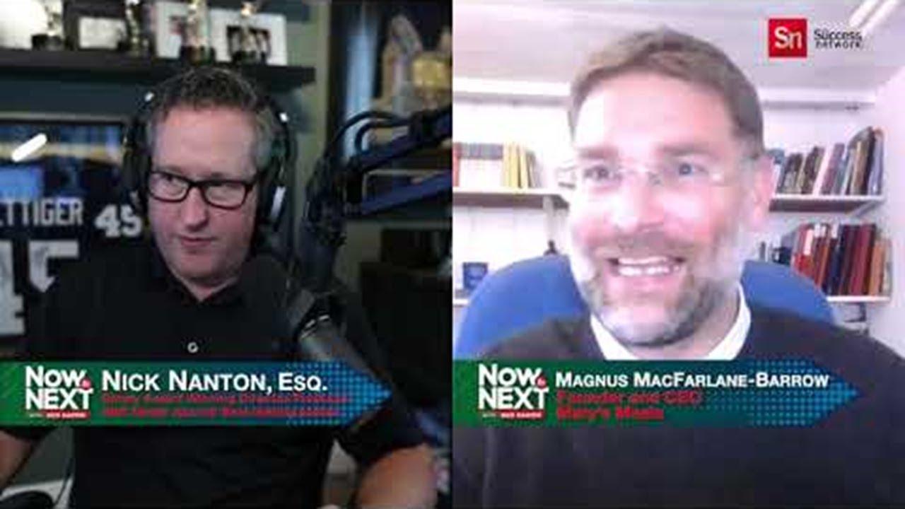 Now to Next with Nick Nanton Feat. Magnus MacFarlane-Barrow