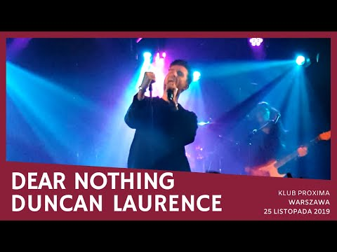 Duncan Laurence - Dear Nothing (Proxima, Warsaw, 25.11.2019)
