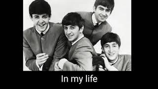 The beatles - In my life ( subtitulado al español )
