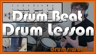 ★ Dancing Queen (ABBA) ★ FREE Drum Lesson   How To Play Drum BEAT