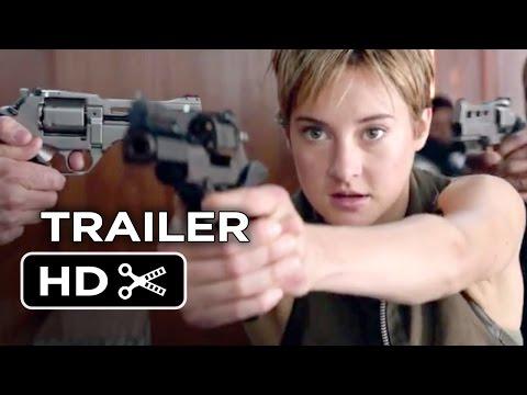 Insurgent Official Trailer - Fight Back (2015) - Shailene Woodley Divergent Sequel HD