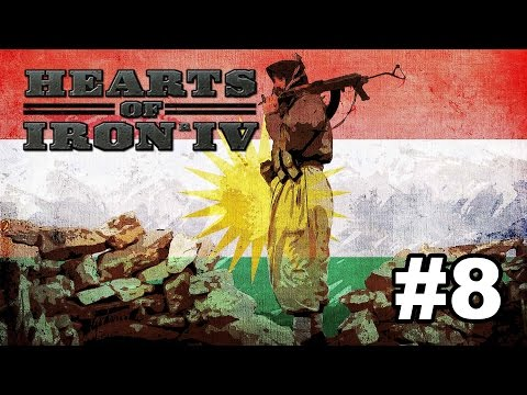 Kurdistan [8] Hearts of Iron IV - Conquering Iran #3 (The end)