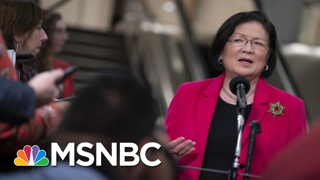 Senator Mazie Hirono: President Donald Trump Believes He's King Now | The 11th Hour | MSNBC