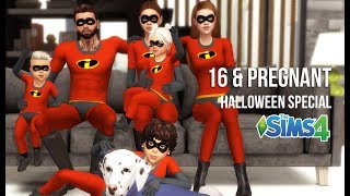 16 & PREGNANT HALLOWEEN SPECIAL | BIRTH TO DEATH EDITION | A Sims 4 Story