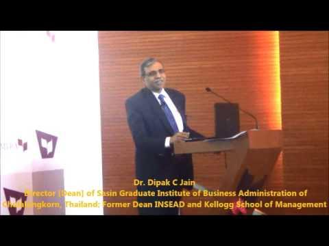 Dr. Dipak Jain - Distinguished Lecture (4) @ MYRA
