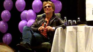 Jon Bon Jovi Fan Club Q&A Dublin June 2011 - Part 2