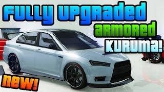 "GTA Online: Brand New ""Heists"" DLC Sports Car! - Fully Upgraded ""Armored Kuruma"" (GTA 5 Heists DLC)"