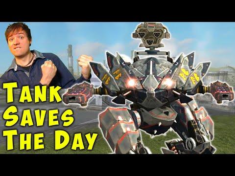 My FENRIR Saves The Day! War Robots Mk2 Tank Gameplay WR
