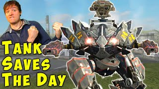 My FENRIR Saves the Day! War Robots Mk2 Tank Gameplay WR