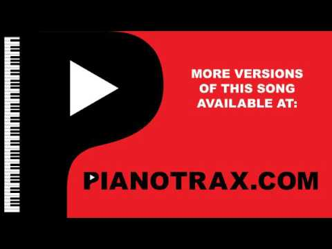 Even Though - I Love You Because Piano Karaoke Backing Track - Key: Bb