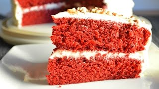 LUSCIOUS Red Velvet Cake Recipe |How to Make a Red Velvet Cake from scratch |Cooking With Carolyn