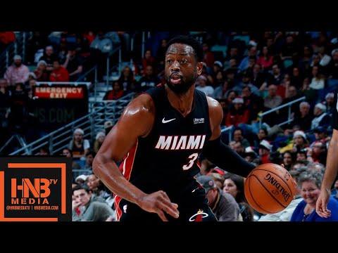 Miami Heat vs New Orleans Pelicans Full Game Highlights | 12.16.2018, NBA Season